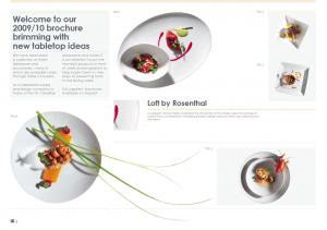 Table Concepts Brochure Design
