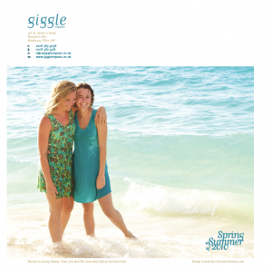 Giggle Organic Clothing Brochure Design and Print