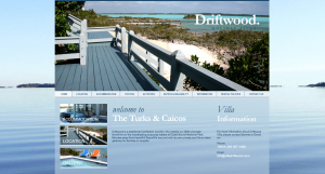 Web Design For A Beautiful Pad In The Turks And Caicos