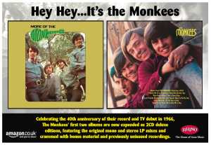 Warner Music Advertising Monkees