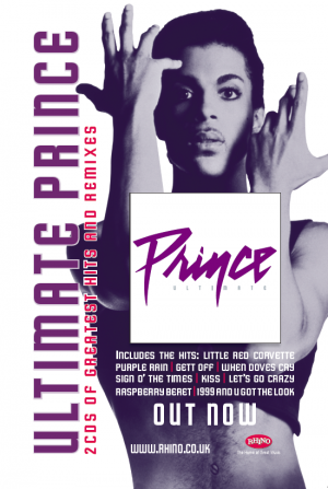 Poster Design for Prince