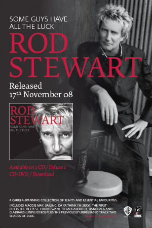 Rod Stewart  Press Campaign Warner Music