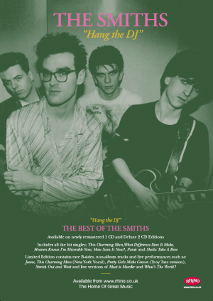 The Smiths Press Ad for Warner Music