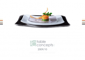 Table Concepts Print Design