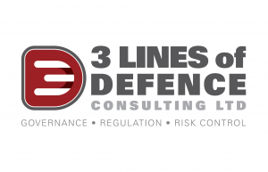 3 Lines of Defence Consulting Logo Design
