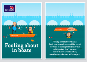 RNLI River Safety Campaign for Kingston University