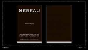 Sebeau print design